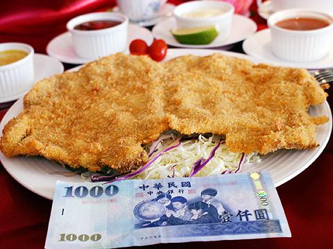 台南異國餐廳‧TIMA超大豬排